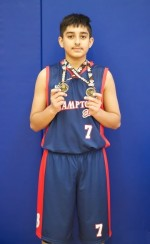 2014-15 BMBA - Brampton Warriors Major Atom Elite U12 Boys - Photo 2 - Manvir  Virdi (2)