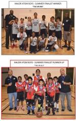 "2014 BMBA Summer Finalist Winner - Major Atom Boys ""The Spurs"""