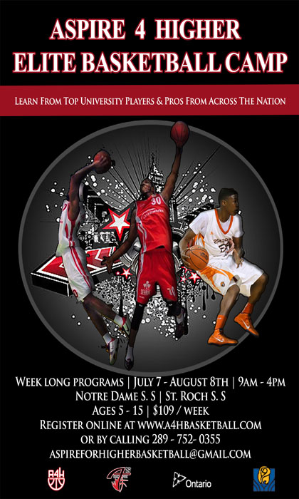 ASPIRE 4 HIGHER – Elite Basketball Camp 2014