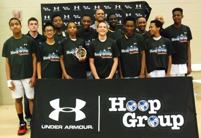 Major Bantam Boys – Team Wharton Win Hoop Group Turkey Tip O…