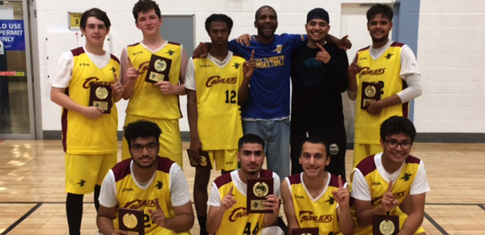 Cavaliers – Juvenile boys summer league champion