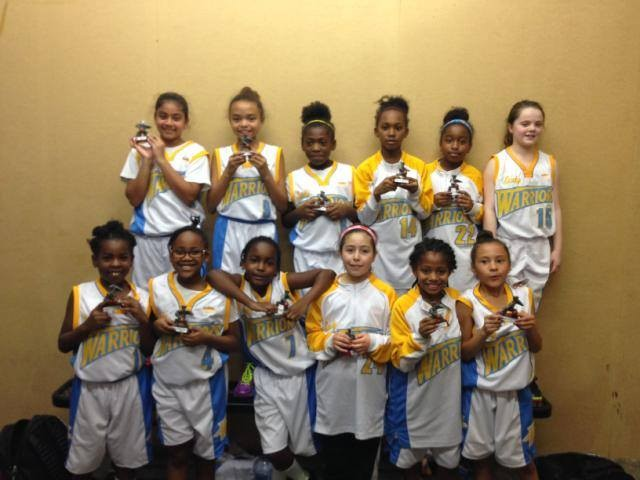 Novice girls 3rd at HoopDome