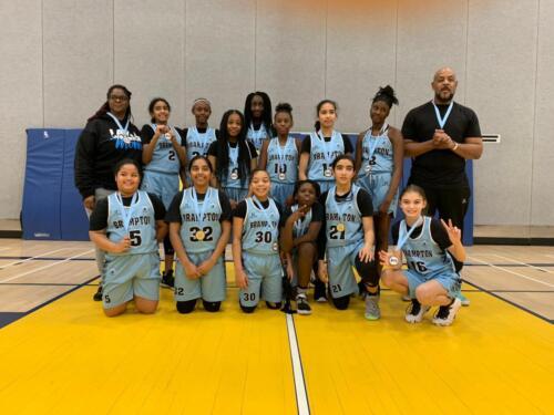 Team Crawford U13 Girls Goes for Gold!