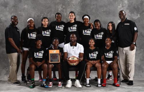 Brampton Warriors U14 Girls Represent Canada and Claim International Supremacy at the Jr. NBA Global Championships in Orlando, Fl.!