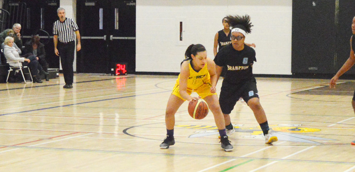Lady Warriors in OBL Action – Team defensive