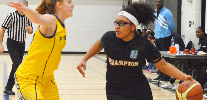 Lady Warriors in OBL Action -Driving left